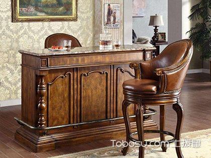 欧式整体家用吧台,布置舒适典雅家居设计
