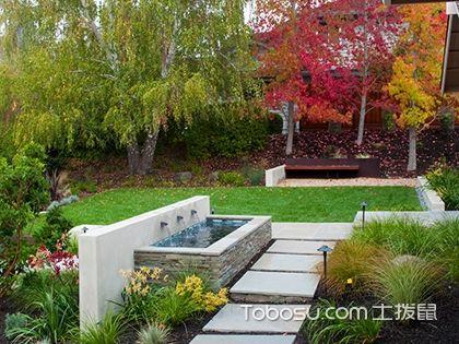 庭院装修设计效果图,不同风格的庭院设计欣赏