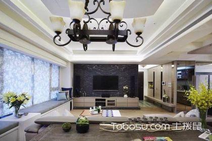现代简约风格客厅装修,精简时尚的纯净空间