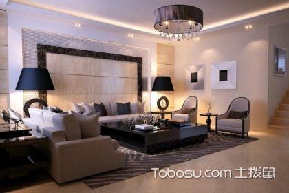 客厅装修效果图简约大气,给你不同的体验