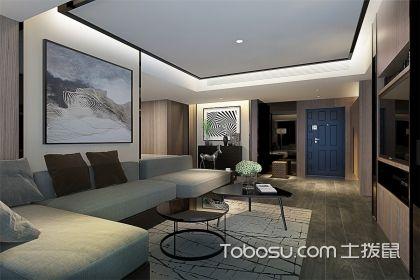 新现代中式客厅装修效果图,2018最新客厅装修设计