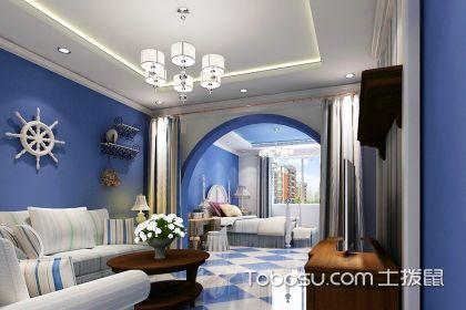 地中海客厅有多美?居家享受必首选