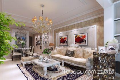 欧式客厅沙发背景墙,欧式风格客厅的沙发背景墙有什么特点