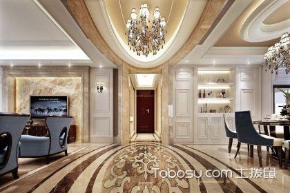 別墅大廳地磚裝修風格如何選?低調奢華不可少