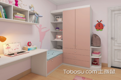 儿童衣柜书桌一体设计优点,衣柜书桌一体家具好不好
