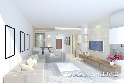 客厅现代简约装修效果图,极致简单的惬意生活