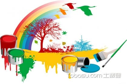 油漆與涂料的區別是什么?油漆與涂料區別介紹