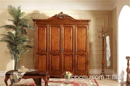 美式实木衣柜如何选购,如何挑到高质量的衣柜产品