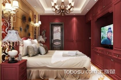 臥室衣柜電視墻有什么風格?這樣裝修更合適