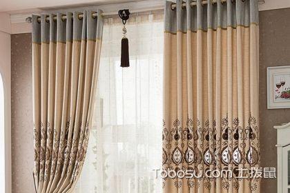 中式装修搭配窗帘,清新淡雅的窗帘设计
