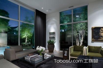 复式楼大厅窗帘效果图,让您的住宅更加完美