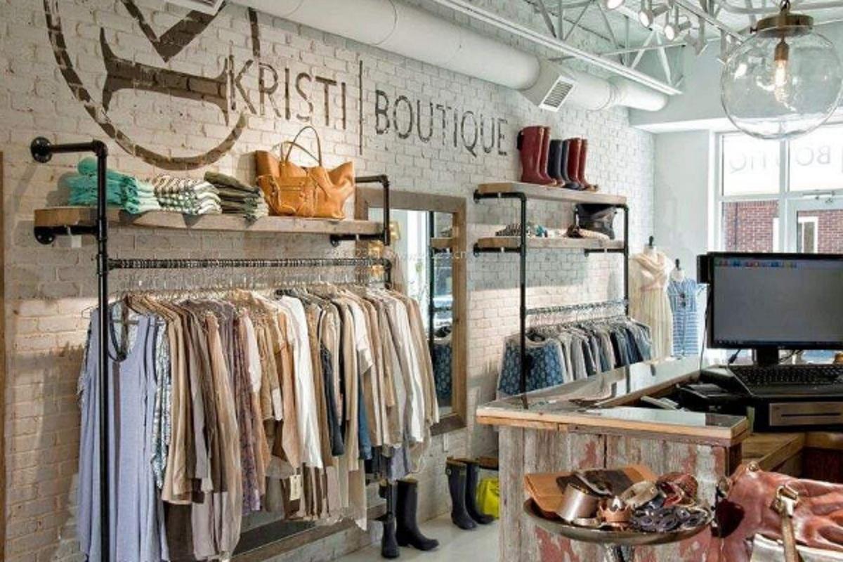 小型服装店装修风格图片,如何装修更吸引人