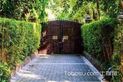 庭院門設計效果圖款式多,多種材質任選擇