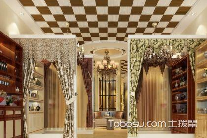 窗帘店的装修效果图,怎样打造好窗帘店的外在装饰
