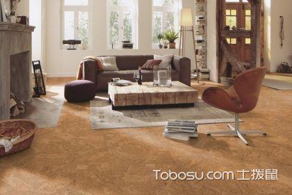 软木地板安装,安全舒适类型的地板装修