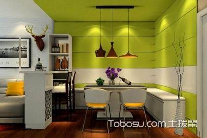 小户型餐厅装修效果图,六种不同的款式设计