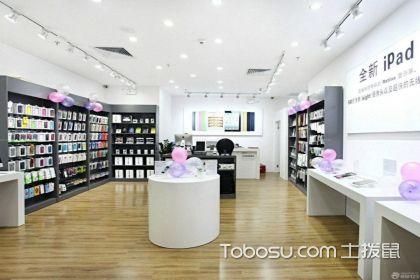 你知道手機配件店裝修怎么搭配好呢?光線與活動空間決定一切