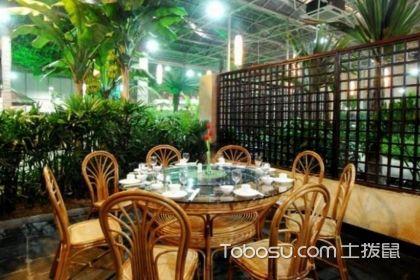 生态餐厅设计,四款生态餐厅装修效果图