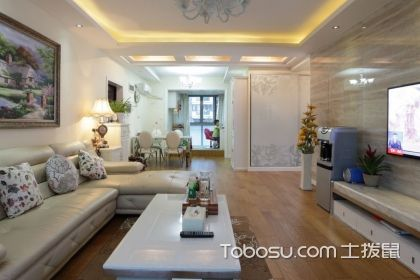 歐式古典客廳裝修效果圖,讓客廳給美觀