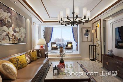 客厅装修中式,端庄大气的风格传统与现代的结合