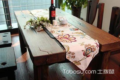 桌旗的搭配介绍,家庭桌旗怎么搭配好看