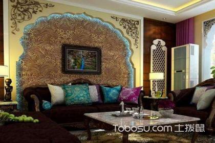东南亚风格壁纸的特点,东南亚风格壁纸如何搭配