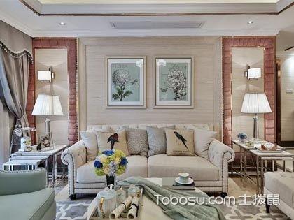 103平米欧式风格设计图,低调轻奢的浪漫家居