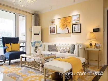 客厅沙发背景墙装饰画怎么搭配?需要注意哪些细节?