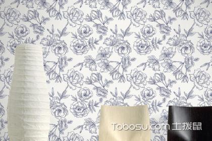 美式花枝壁纸满客厅贴好看嘛?花俏壁纸贴客厅合不合适