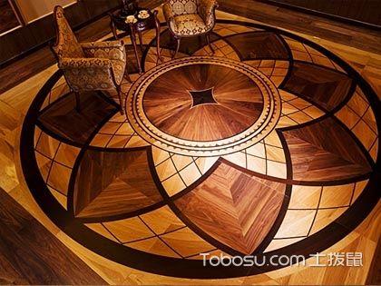 6款地板拼花效果图,拼出家居空间的时尚与个性美
