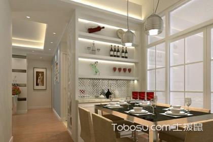 小户型餐厅装修效果图,小面积餐厅如何设计