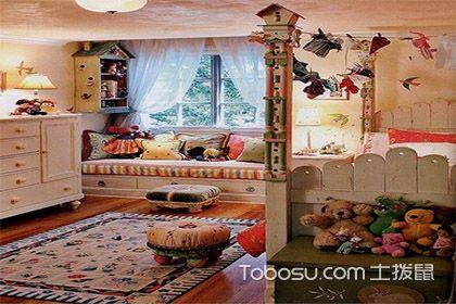 选对儿童房家具颜色,让房间别具一格