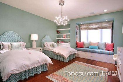 双胞胎儿童房,如何设计好健康舒适的双胞胎儿童房