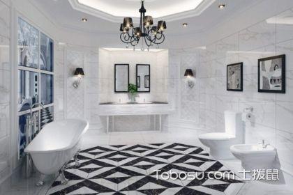 黑白地板磚裝修效果圖,如何搭配更好?