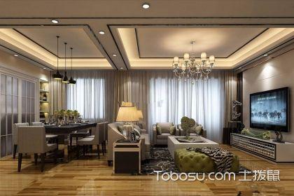 客餐厅一体装修效果图,客厅餐厅一体的装修如何设计