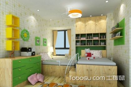大儿童房间设计,怎样设计出适合大儿童居住的房间
