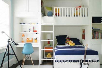 儿童房高低床种类有哪些?选择儿童房高低床的方法