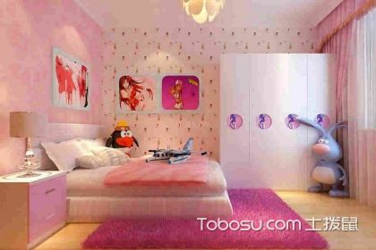 儿童房装修效果图大全2018图片,领略不同的儿童房
