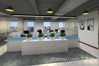 100平辦公室裝修效果圖,簡單舒適的裝飾