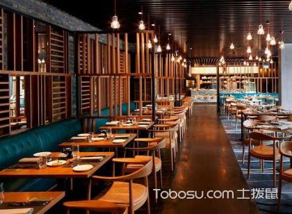 餐廳店面裝修效果圖大全,小清新文藝范餐廳