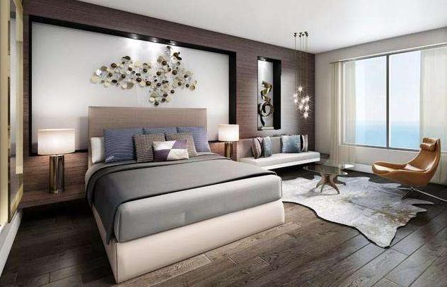 全屋木地板装修效果图,为家具增加清新格调