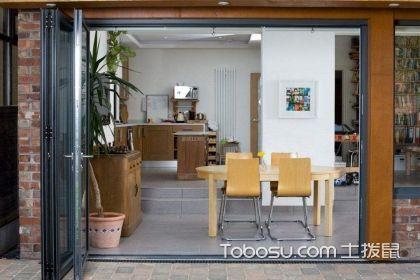 厨房用折叠门好不好?#31354;?#21472;门优缺点解析