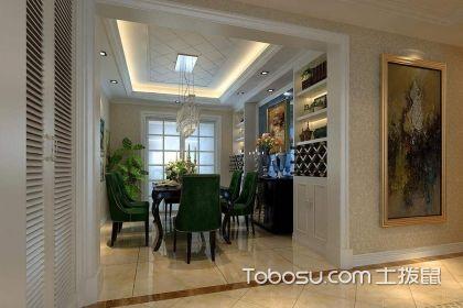 餐厅酒架效果图,餐厅酒架这样设计实用又美观