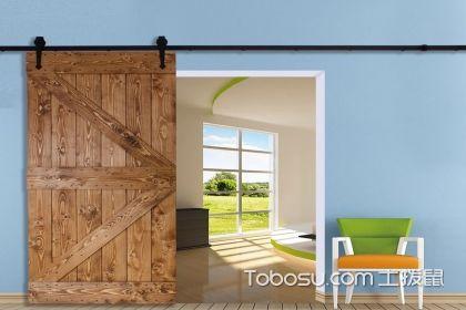 厨房谷仓门装修效果图,厨房门的新选择