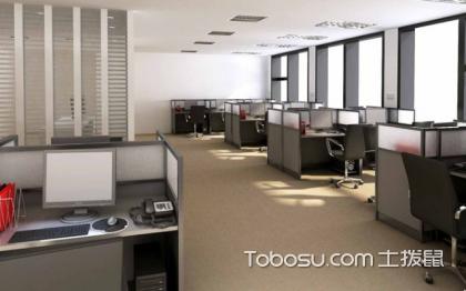 装修公司办公室实景图,时尚大气的装修设计