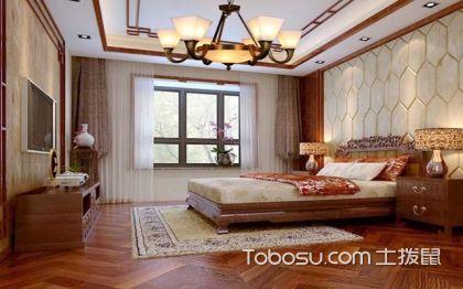 新中式酒店客房效果圖,優雅中式高端大氣