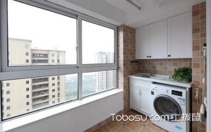 阳台洗手台图片,阳台洗手台尺寸多少合适?