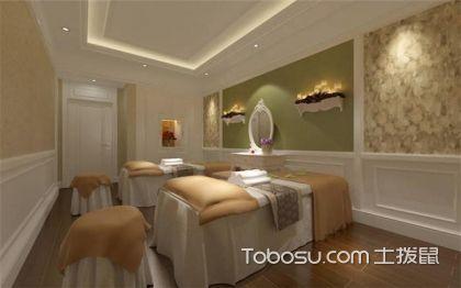 美容院裝修效果圖簡裝80平米,超舒心的環境