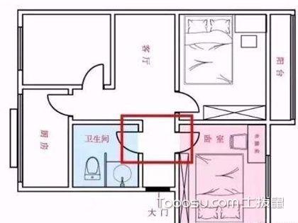 厕所门对卧室门格局好吗?厕所门对卧室门最好的化解方法是什么?