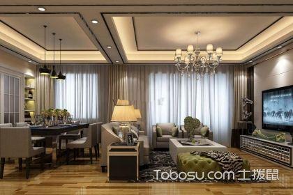 客餐厅一体效果图,怎样装修设计客餐厅一体空间